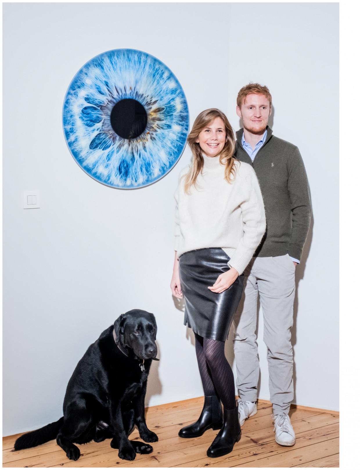 Stephanie en Romain Beeld