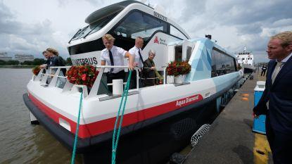 """Waterbus vaart niet meer uit: """"Veiligheid klanten en bemanning gaat voor"""""""