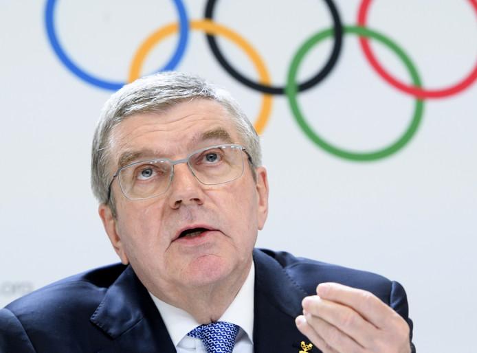 Voorzitter van het international olympische comité, Thomas Bach, wil gamers toelaten op de Olympische Spelen.
