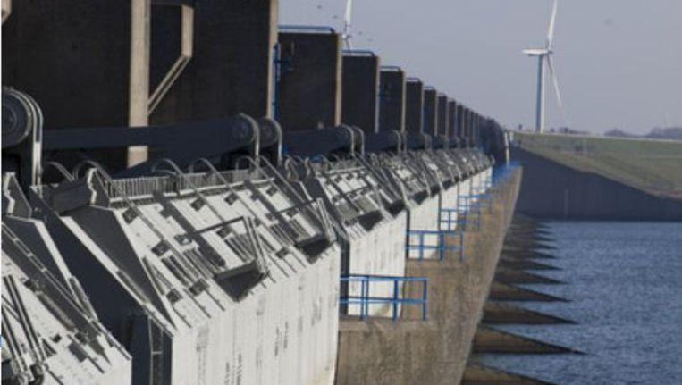 De Haringvlietdam. Foto: anp Beeld