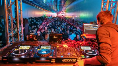 Techno blaast dak van vernieuwde Hallepoorttunnel