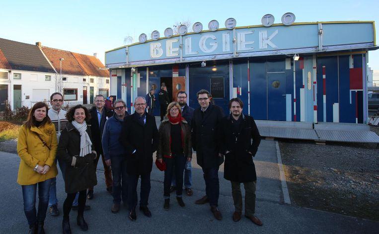 De Belgiek zal zeven keer in Brugse wijken staan.