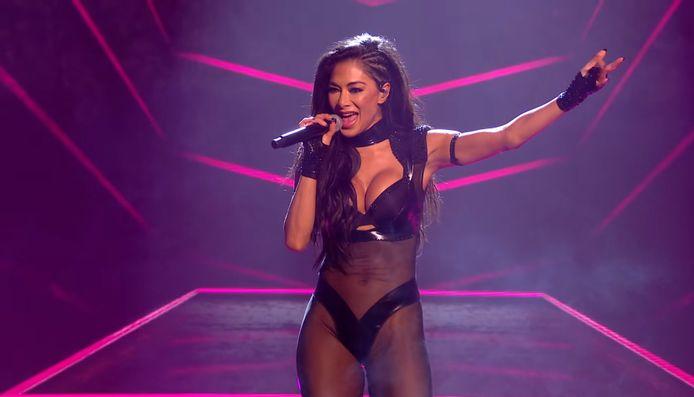 Nicole Scherzinger van de Pussycat Dolls