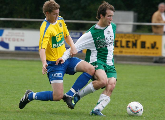 Beeld van Sparta'25 - Deurne uit 2009. Beide ploegen treffen elkaar op donderdag 19 december in de derde bekerronde.