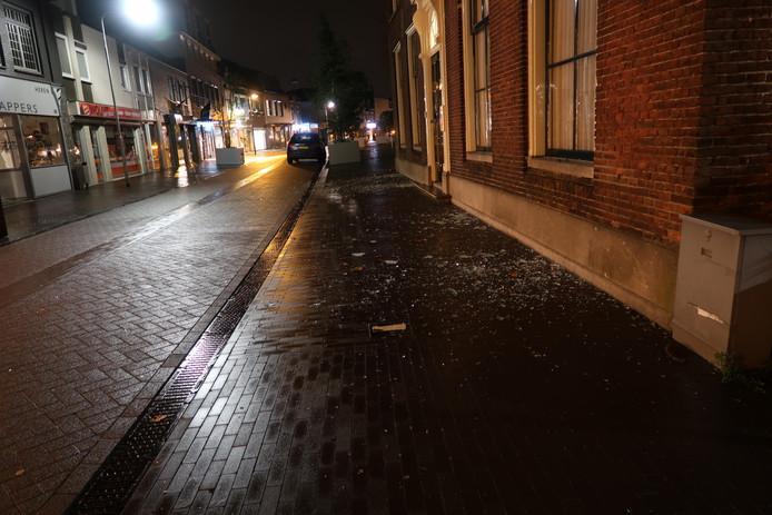 Plofkraak Molenstraat Zundert.