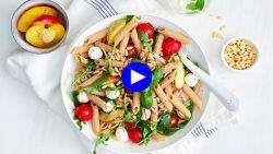 Voeg dit simpele ingrediënt toe voor een pastasalade die instant fris en zomers smaakt