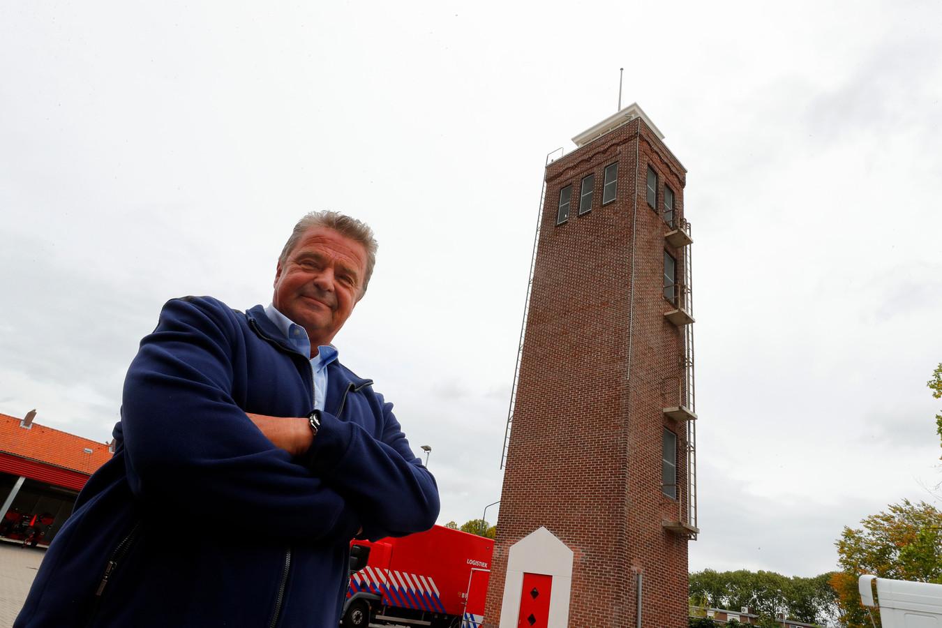 """Rinus Verhees van De Pompiers: ,,We hebben er ons jaren hard voor gemaakt om de toren te behouden."""""""