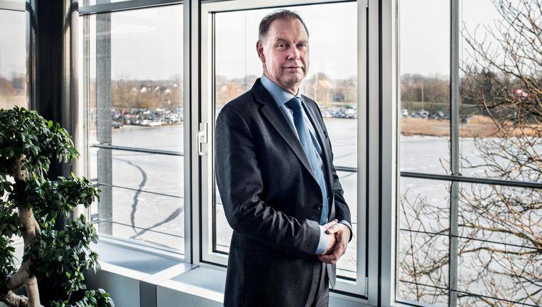 Aart Jan de Geus: 'Neem nu eens Macron in Frankrijk, die zegt duidelijk: de problemen waarvoor we staan, daar hebben we Europa bij nodig.' Beeld Simon Lenskens