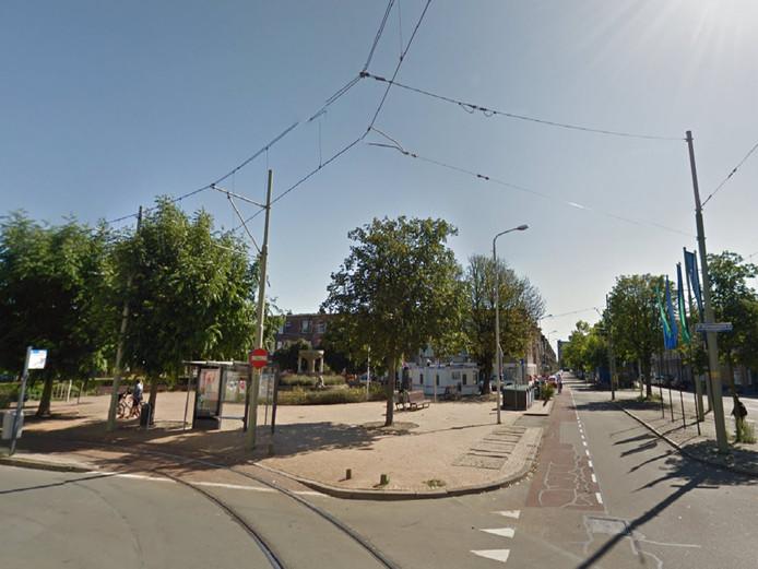 Het Stuyvesantplein is het grootste plein dat nu wordt opgeknapt.