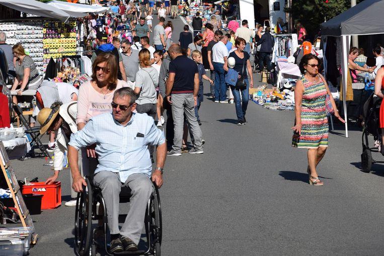 De jaarmarkt in Beersel dreigt te verdwijnen nu het comité opgedoekt wordt.