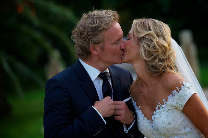 Wendy en Erland hadden in 2014 een sprookjeshuwelijk op Ibiza.