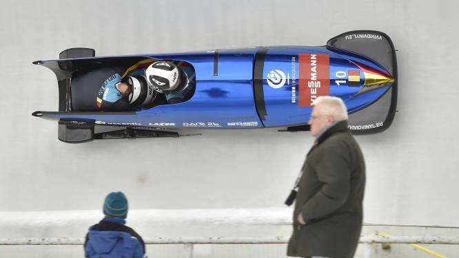 Belgian Bullets knap tweede op WB-manche in Altenberg