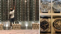 """Blinkende horloges en een kolossale wijnkelder in stulpje van 21 miljoen euro: Mayweather toont zijn """"Beverly Hills lifestyle"""""""