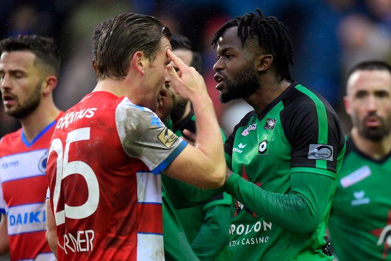 Vormer versus Omolo.