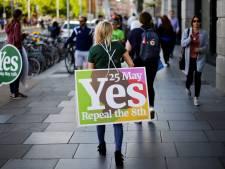 'Ieren stemmen voor liberalisering strenge abortuswet'