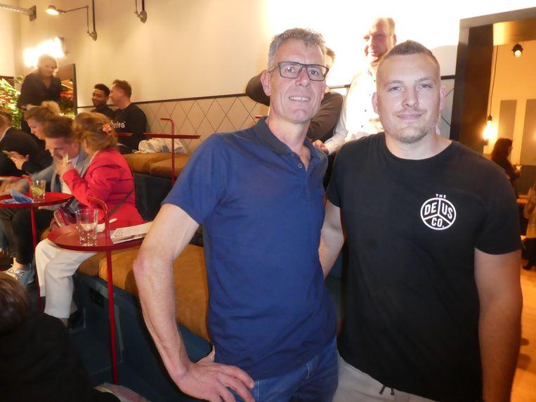 De verbouwers: Dolf Bohncke (Bohncke Bouw) en Tim Bultstra (TB Tec). Bohncke: