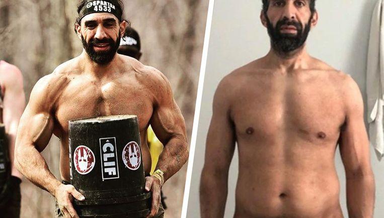 Ahmad Ayyad verloor 27 kilogram door het coronavirus.