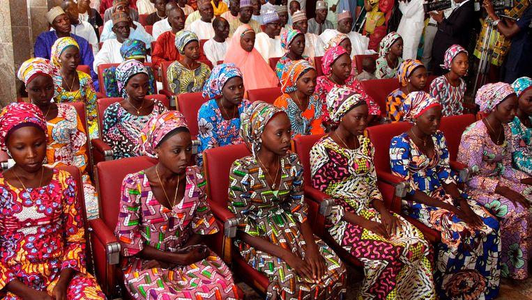 Vorig jaar werden ook al 21 van de meer dan 200 ontvoerde schoolmeisjes vrijgelaten