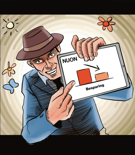 Nuon-verkoper: Ik ben een oplichter
