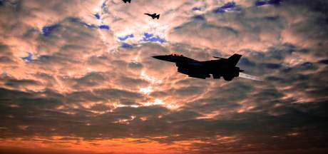 F-16's vliegbasis Volkel beginnen weer met avondvliegen