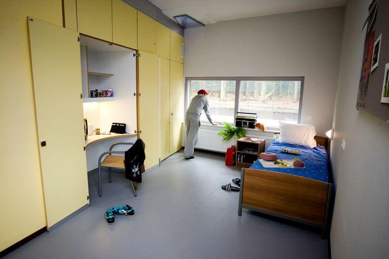 GGZ-instelling de Woenselse Poort in Eindhoven. De Woenselse Poort behandelt mensen met meervoudige, complexe en langdurende psychiatrische problemen. Beeld ANP