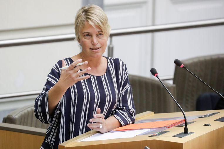 Vlaams Milieuminister Joke Schauvliege (CD&V)