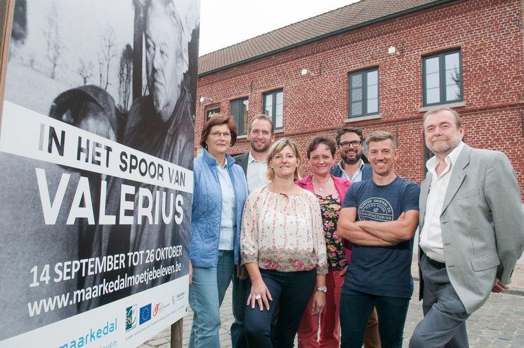 De organisatoren van het Valeriusproject.