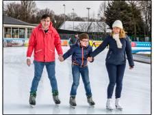 Hoe de Georgische president Michail  Saakasjvili op een Amsterdamse ijsbaan belandde