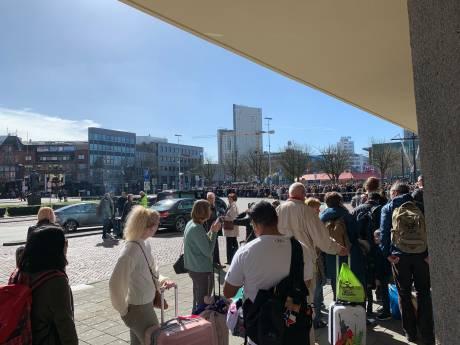 Chaos op station Eindhoven door stroomstoring bij Liempde: treinverkeer naar het noorden plat