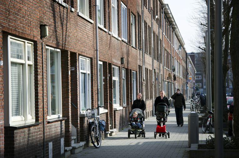 De wijk Carnisse, Rotterdam-Zuid. Beeld ANP