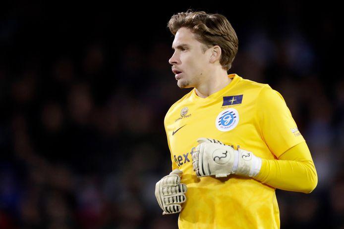 Nigel Bertrams kende bij De Graafschap een uitstekende periode en keepte daar Hidde Jurjus, keeper uit die streek, uit het elftal.
