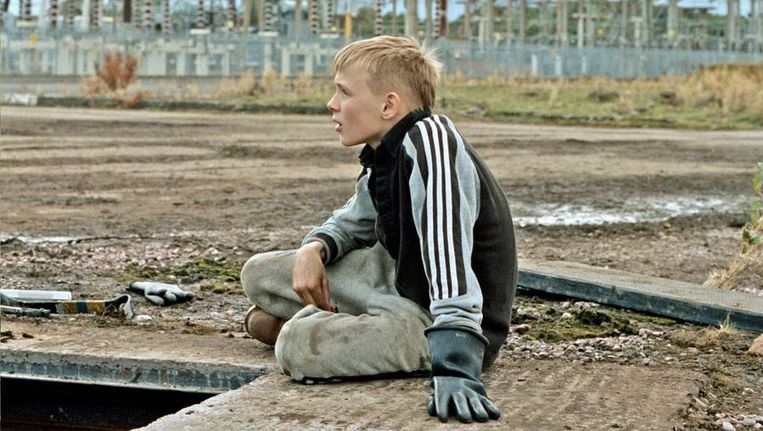 Connor Chapman als Arbor, in het sociaal-realistische drama The Selfish Giant Beeld Still uit The Selfish Giant