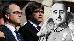 """Catalaanse woordvoerder: """"Huidig Spanje is erger dan Franco"""""""