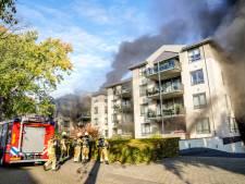 Oosterhoutse ouderen kunnen nog zeker een maand niet terug naar huis na brand onder appartementen