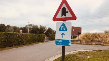 Studie onderzoekt of F8-fietssnelweg veiliger kan op kruispunten