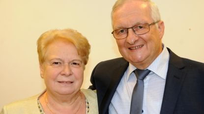 Pierre en Francine vieren hun vijftigste huwelijksverjaardag
