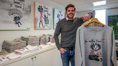 Kunstenaar pakt uit met kledinglijn