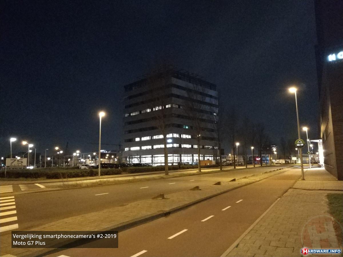 Nachtfoto Moto G7