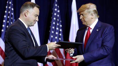 Trump stuurt meer Amerikaanse soldaten naar Polen