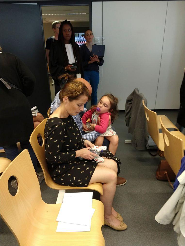 Valentina Grimaldi ging vorige week mee naar de zitting in de rechtbank.