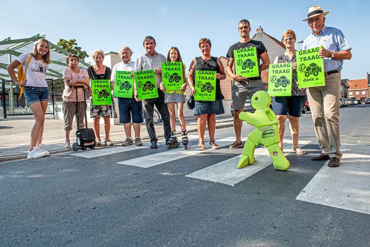 Bewegingspunt Ledegem organiseert een actie 'Graag Traag'.