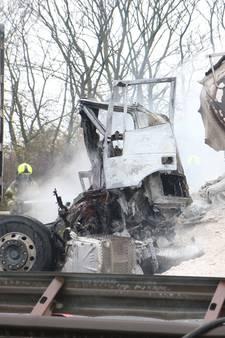 A29 richting Rotterdam zeker tot middernacht dicht na fataal ongeval bij Haringvlietbrug