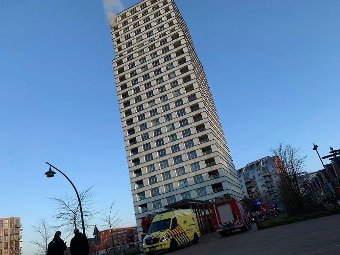 Brand in flat in Den Bosch