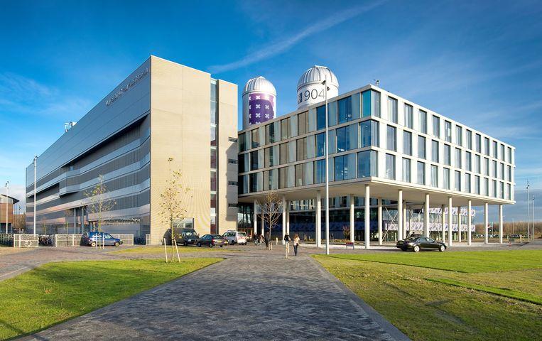 De Universiteit van Amsterdam (UvA) is onder andere gevestigd op Science Park.  Beeld Hollandse Hoogte /  ANP