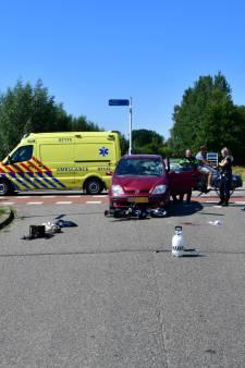 Scooterrijder zwaargewond na aanrijding in Angerlo
