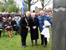 Holocaustmonument in Barneveld onthuld