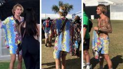 Dansen, springen en over de grond rollen: deze celebs laten zich helemaal gaan op een festival