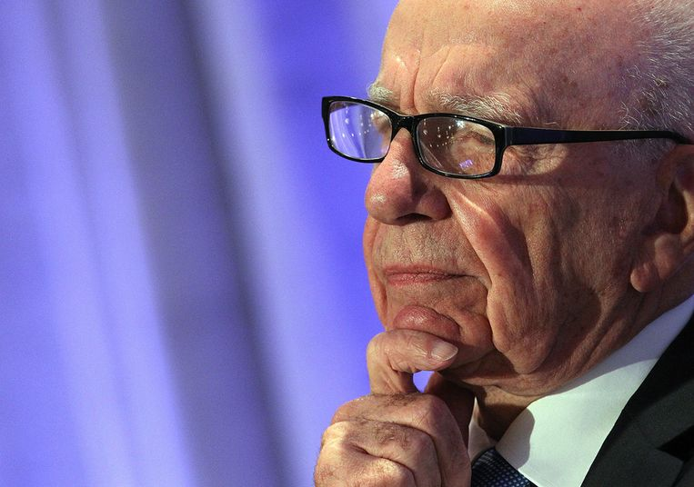 Rupert Murdoch Beeld getty