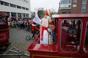 De intocht van Sinterklaas in Veenendaal in 2008.