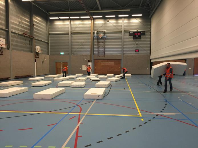 Opvang voor vluchtelingen in De Slagen in Waalwijk